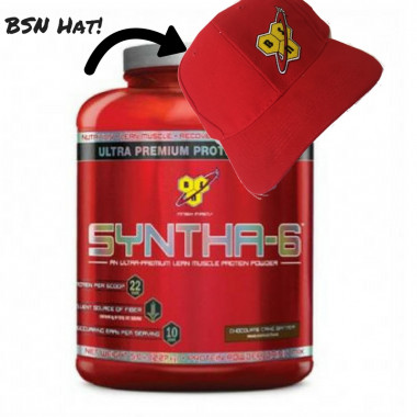 BSN Syntha-6 5lb + BSN Hat