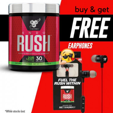 BSN Endo Rush 30sv + free headphones!