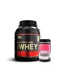 Gold Standard 5lb + Amino Energy 30sv