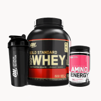Gold Standard 3.5lb + Amino Energy 30sv Stack