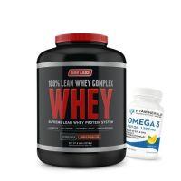 Narlabs 100% Lean Whey Complex 5lb + Free Vitaminerals Omega 3