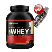 Gold Standard 5lb Whey Protein + Free ON Pure Pro 50 Rtd